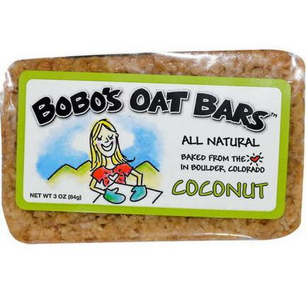 Bobo's Oat Bars, Coconut Bar 85g
