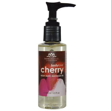 Bodyceuticals Calendula Skincare, Bodylove, Body, Bath Massage Gel, Cherry 104ml