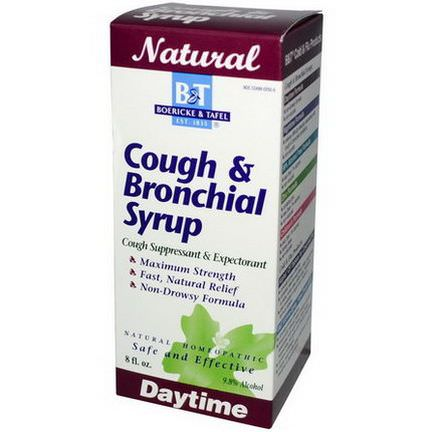 Boericke&Tafel, Cough&Bronchial Syrup, 8 fl oz