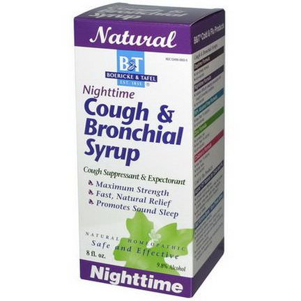 Boericke&Tafel, Nighttime Cough&Bronchial Syrup, 8 fl oz