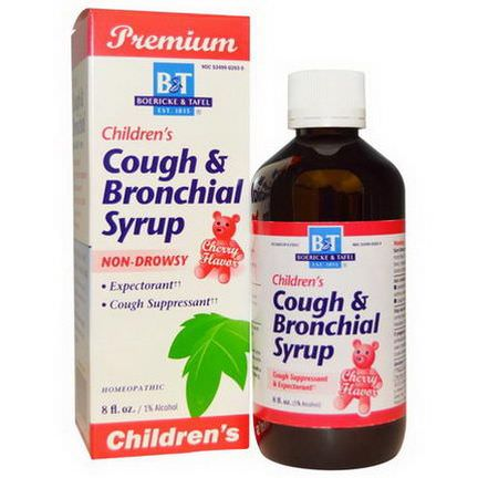 Boericke&Tafel, Premium Children's Cough&Bronchial Syrup, Cherry Flavor, 8 fl oz