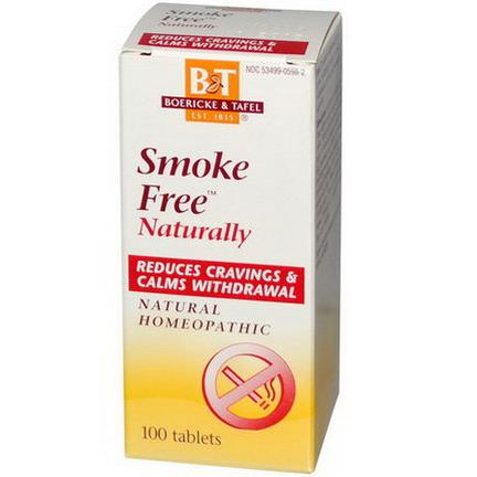 Boericke&Tafel, Smoke Free Naturally, 100 Tablets