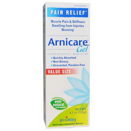 Boiron, Arnicare Gel, Pain Relief, Unscented 120g