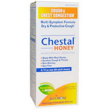 Boiron, Chestal Honey, Cough&Chest Congestion, 6.7 fl oz
