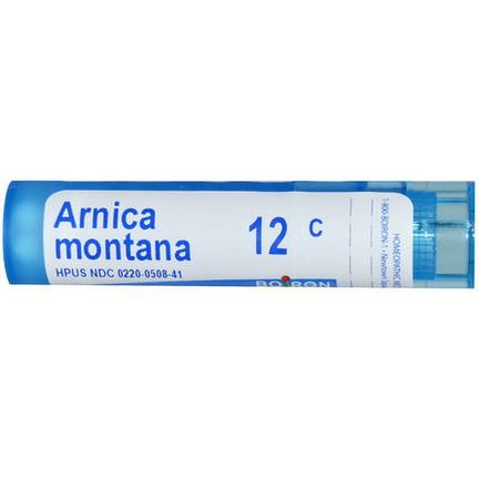 Boiron, Single Remedies, Arnica Montana, 12C, Approx 80 Pellets