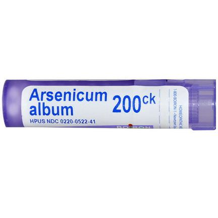 Boiron, Single Remedies, Arsenicum Album, 200CK, Approx 80 Pellets