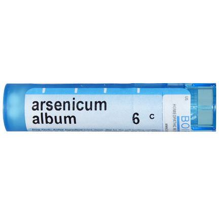 Boiron, Single Remedies, Arsenicum Album, 6C, 80 Pellets