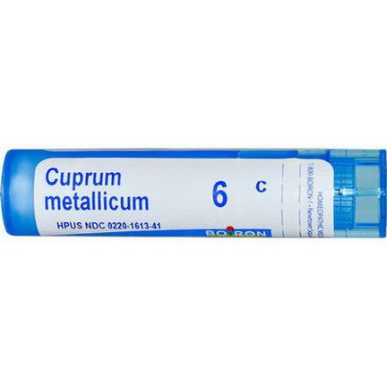 Boiron, Single Remedies, Cuprum Metallicum, 6C, Approx 80 Pellets