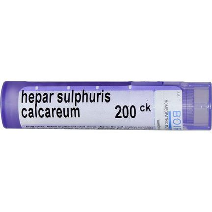 Boiron, Single Remedies, Hepar Sulphuris Calcareum, 200CK, Approx 80 Pellets