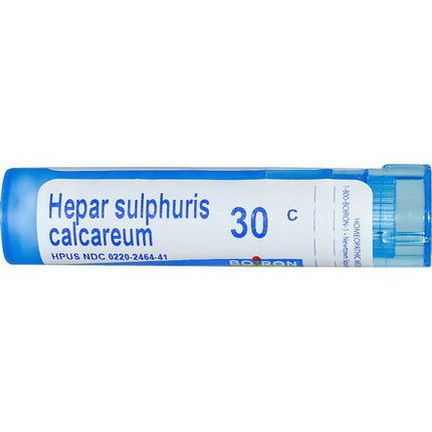 Boiron, Single Remedies, Hepar Sulphuris Calcareum, 30C, Approx 80 Pellets
