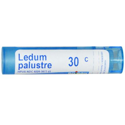 Boiron, Single Remedies, Ledum Palustre, 30C, 80 Pellets