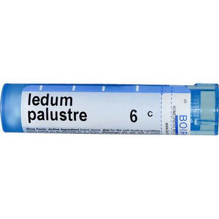 Boiron, Single Remedies, Ledum Palustre, 6C, Approx 80 Pellets