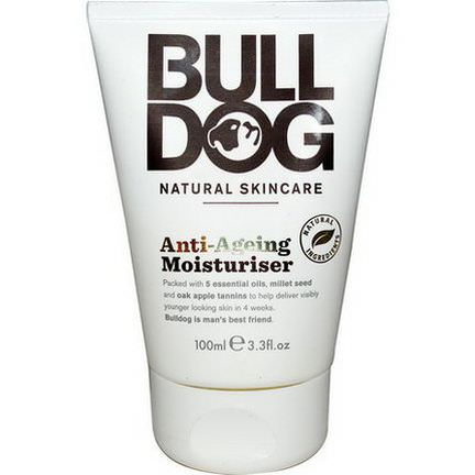 Bulldog Skincare For Men, Anti-Ageing Moisturiser 100ml
