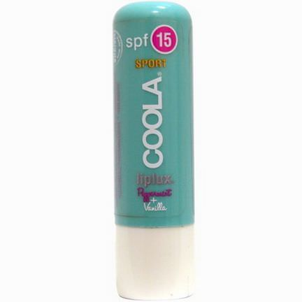 COOLA Organic Suncare Collection, Sport, Liplux, SPF 15, Peppermint Vanilla 4.2g