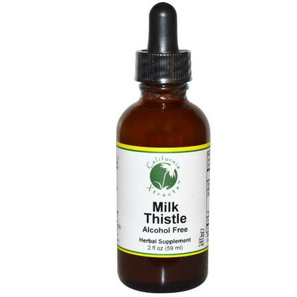 California Xtracts, Milk Thistle, Alcohol Free 59ml