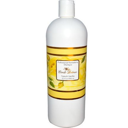 Camille Beckman, Professional Revitalizing Shampoo, French Vanilla 946ml