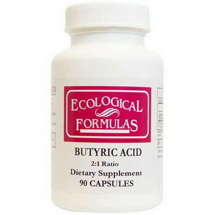 Cardiovascular Research Ltd. Butyric Acid, 90 Capsules