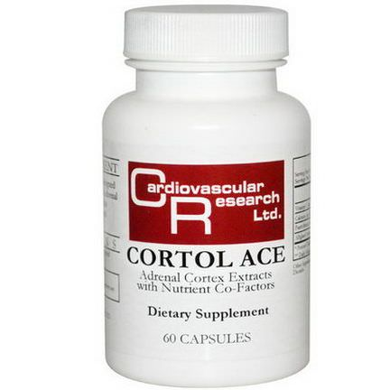 Cardiovascular Research Ltd. Cortol Ace, 60 Capsules