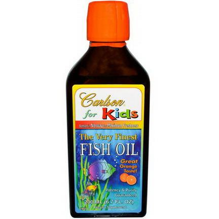 Carlson Labs, The Very Finest Fish Oil, For Kids, Orange 200ml