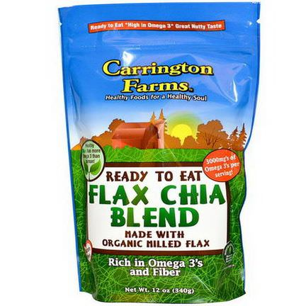 Carrington Farms, Ready To Eat Flax Chia Blend 340g