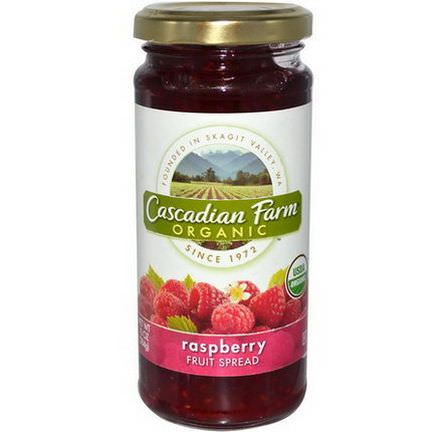 Cascadian Farm, Organic, Fruit Spread, Raspberry 284g