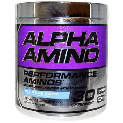Cellucor, Alpha Amino, Icy Blue Razz 384g
