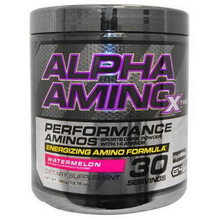 Cellucor, Alpha Amino Xtreme, Watermelon 390g