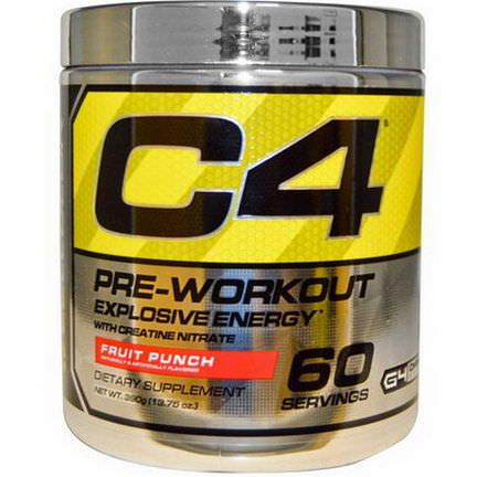 Cellucor, C4, Pre-Workout, Explosive Energy, Fruit Punch 390g