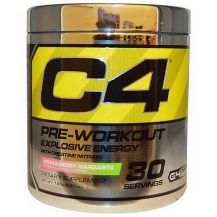 Cellucor, C4, Pre-Workout, Explosive Energy, Strawberry Margarita 195g