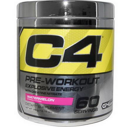 Cellucor, C4, Pre-Workout, Explosive Energy, Watermelon 390g