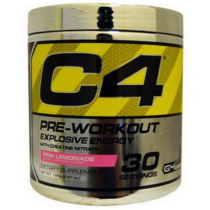 Cellucor, C4, Pre-Workout, Pink Lemonade 195g