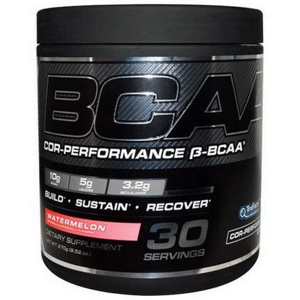 Cellucor, Cor-Performance, B-BCAA, Watermelon 270g