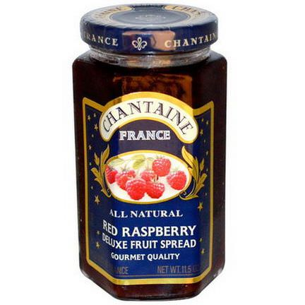 Chantaine, Deluxe Fruit Spread, Red Raspberry 325g