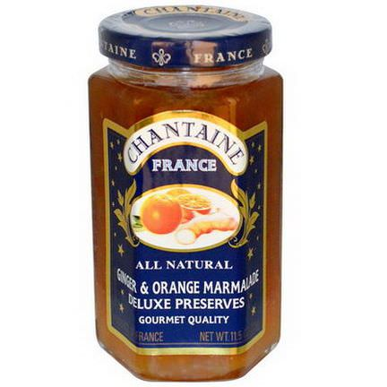 Chantaine, Deluxe Preserves, Ginger&Orange Marmalade 325g