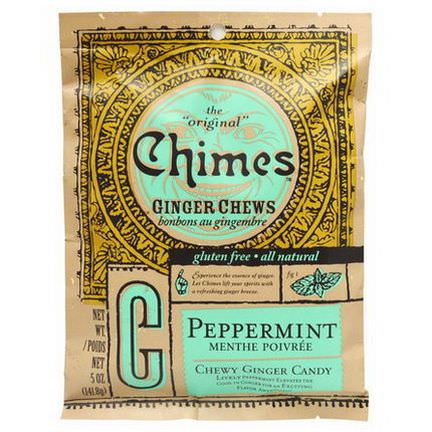 Chimes, Ginger Chews, Peppermint 141.8g