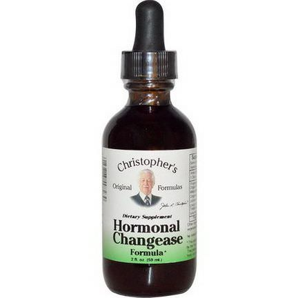 Christopher's Original Formulas, Hormonal Changease Formula 59ml
