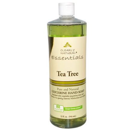 Clearly Natural, Glycerine Hand Soap, Tea Tree 946ml