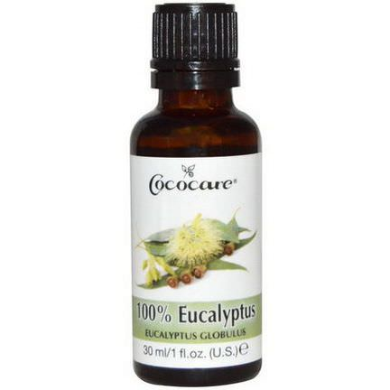 Cococare, 100% Eucalyptus Oil 30ml