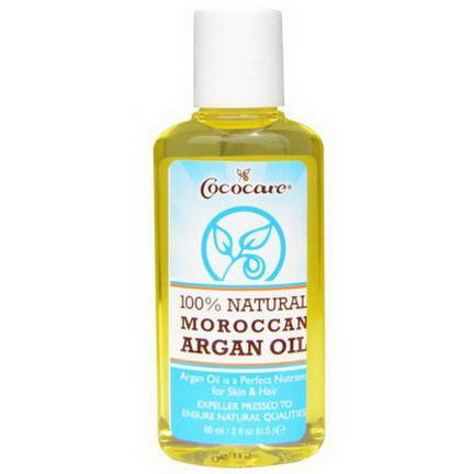 Cococare, 100% Natural Maroccan Argan Oil 60ml