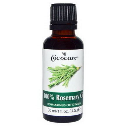 Cococare, 100% Rosemary Oil 30ml