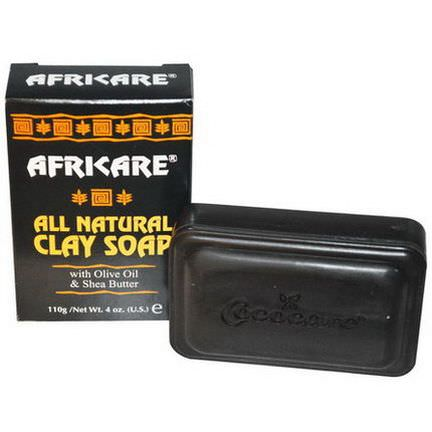 Cococare, Africare, All Natural Clay Soap 110g