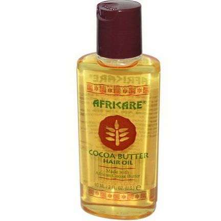 Cococare, Africare, Cocoa Butter Hair Oil 60ml