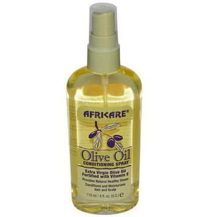 Cococare, Africare, Olive Oil Conditioning Spray 118ml