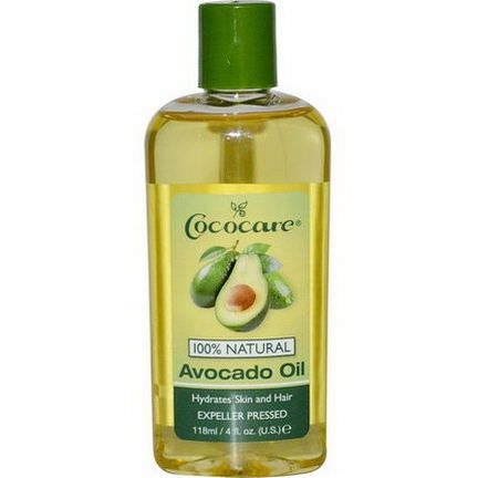 Cococare, Avocado Oil 118ml