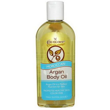 Cococare, Moroccan Argan Body Oil 250ml