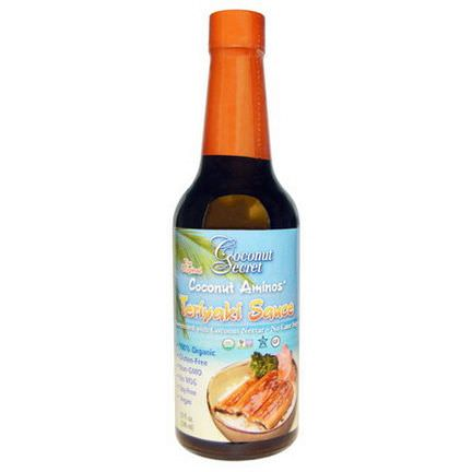 Coconut Secret, Teriyaki Sauce, Coconut Aminos 296ml