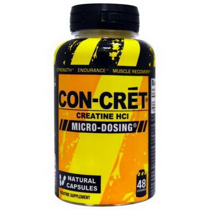 Con-Cret, Creatine HCI, 48 Natural Capsules