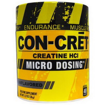 Con-Cret, Creatine HCl, Micro Dosing, Unflavored 36g