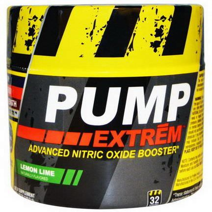 Con-Cret, Pump Extrem, Lemon Lime 140.8g