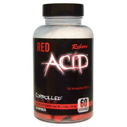 Controlled Labs, Red Acid Reborn, 60 Capsules